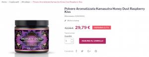polvere aromatizzata sexy shop roma