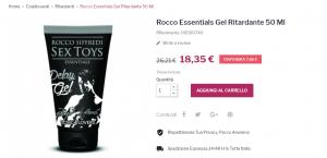 ritardante sessuale sexy shop roma